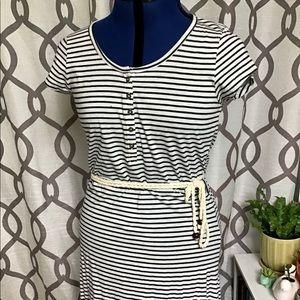 Nautical Stripe Maxi Dress NWOT